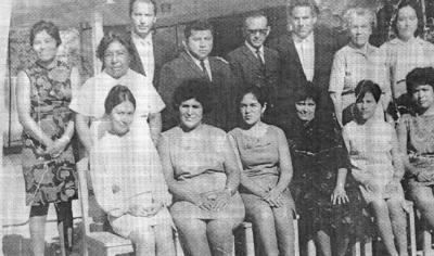 05112017 Magdalena de la O de Bush y su hermano, C.P. Juan Alberto de la O, en 1953.