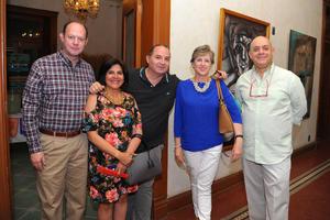 06112017 Jorge, Mayela, Nacho, Mabicha y Carlos.