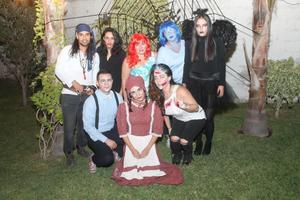 05112017 José Chacón, Luisa Marroquín, Lucía Escamilla, Bety Escamilla, Mariana Estrada, Alejandro Aragón, Meli Chacón y Gina Rodríguez.