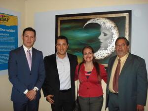 05112017 Fernando Escalera, Guillermo García, Lucero Acosta y Jorge Arce.
