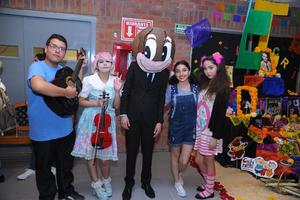 07112017 Carlos, Aranza, Yussef, Noreli y Yamile.