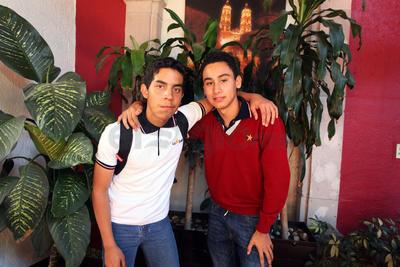 Zahid y Juan Pablo.