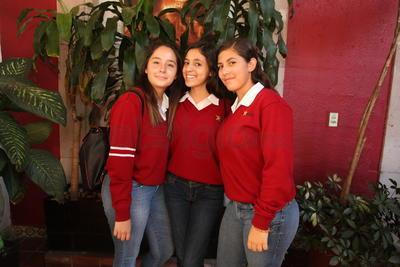 Paulina Zorrilla, Paulina Pérez y Alexa.
