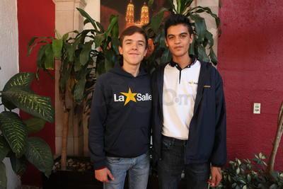Mauro y Tristán.