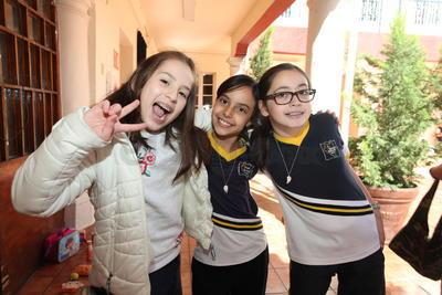 Sofía, Arantza y Sandra.