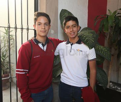 Alfredo y Omar.