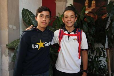 Raúl y Daniel.