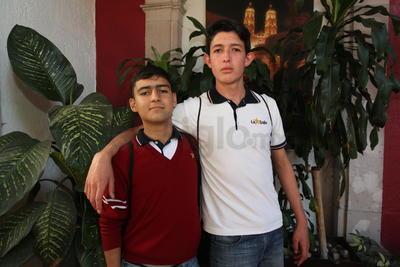 José Luis y Daniel.