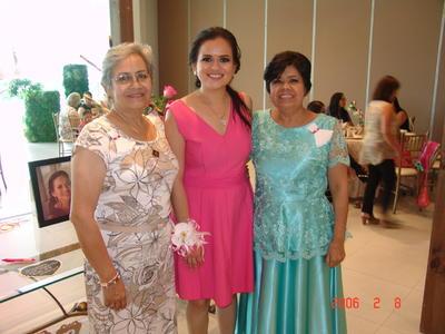 09112017 Azucena con Lydia y Carmen.