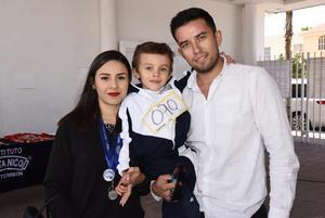 09112017 Paulina, Santiago y Abraham.