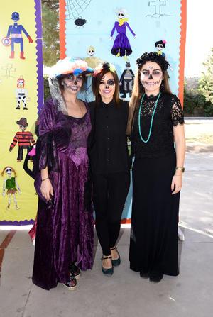 09112017 DíA DE MUERTOS.  Ana Sofía, Lucía y Daniela.