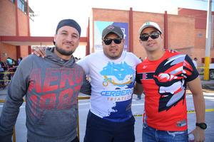 Cheko, Lapa y Adrián