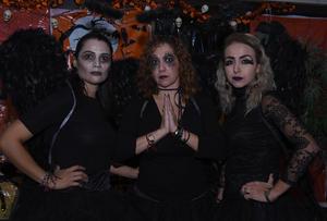 Lupita, Claudia y Cynthia