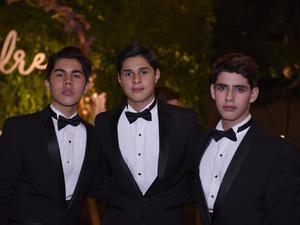 David, Iván y Pedro