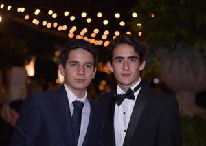 Fernando y Mikel