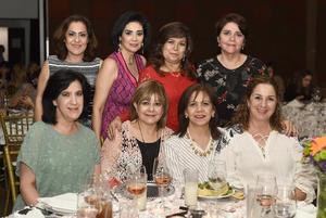 Gaby, Aurorita, Alicia, Paty, Maru, Lidia, Rosario y Susana