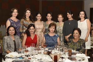 Olga, Estela, Consuelito, Maru, Sara, Consuelo, Susy, Josi, Luisa, Susy y Paty