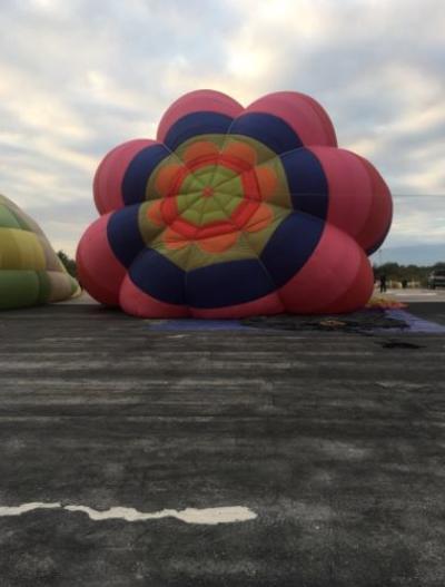 Son cinco globos aerostáticos los que se encuentran en Cuatrociénegas.