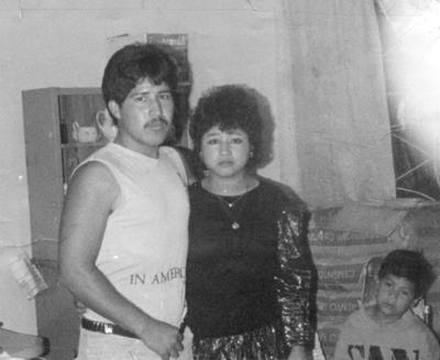 12112017 Ma. de Jesús Gámez López y José Alfredo Soto Puentes contrajeron matrimonio el 9 de noviembre de 1997.