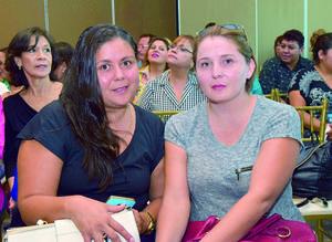 13112017 María Antonia Galindo y Daniela Galindo.