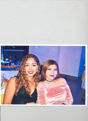 12112017 EN EVENTO SOCIAL.  Astrid Rangel Bustamante y Rocío Elizabeth Rangel Torres.