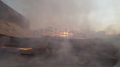 Tras horas de intensa labor, para las 8:30 horas el fuego ya había sido completamente apagado.
