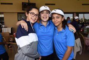 14112017 Miriam Salinas, Andrea Chauvet y Rebeca Mansur.