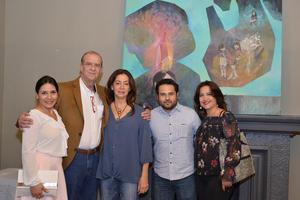 14112017 Anel, Rafael, Rosa María del Toro, Óscar y Mary.