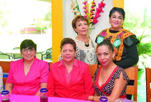 14112017 Lucía, Irma, Marbella, Marlyn y Coco.