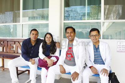 David, Miriam, Key y Manuel.
