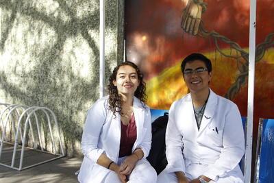 Vanessa Piz y Manuel Villalobos.