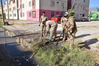 El Simas tiene estos problemas de contaminación de los drenajes en por lo menos 30 colonias del sur-oriente y el oriente de la ciudad.