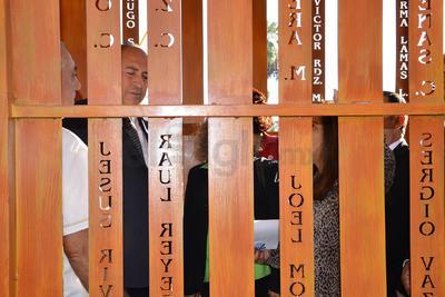 El gobernador Rubén Moreira hizo un recorrido por el Memorial.