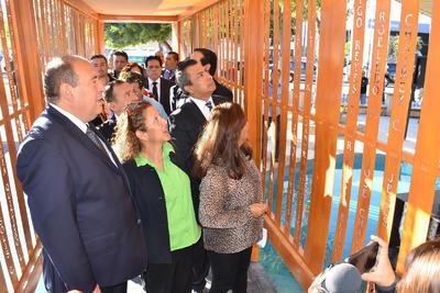 Autoridades locales y estatales acudieron a la ceremonia.