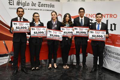 """Los estudiantes del Tecnológico de Monterrey presentaron su proyecto """"Vía+3"""" que pretende integrar al sector gubernamental, empresarial y a la sociedad civil a través de cuatro principales ejes de acción."""