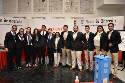 """El Tecnológico de Monterrey debatió contra la Universidad Politécnica de Gómez Palacio el tema """"La Laguna, un nuevo modelo de zona metropolitana."""