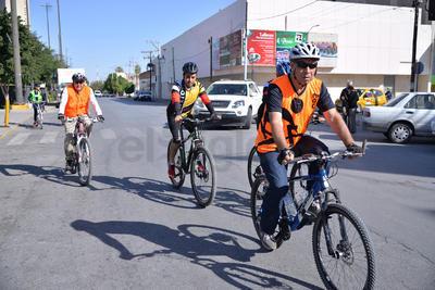 Partieron de la Plaza Mayor de Torreón.