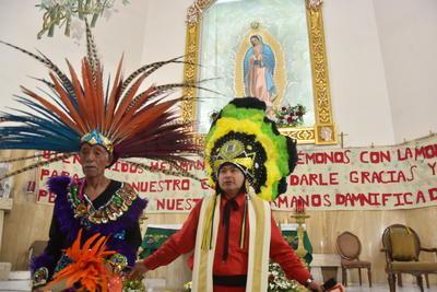 Demostraron su fe ante la Virgen de Guadalupe.
