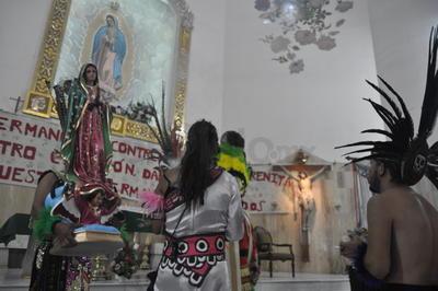 Inicia la temporada de peregrinaciones a la Virgen de Guadalupe en Torreón con la bendición de las danzas que acompañarán a los fieles.