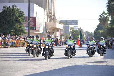 El desfile contó con la participación de mil personas más en relación al año pasado.