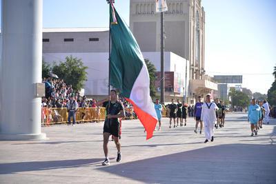 Se realizó el desfile por el 107 aniversario de la Revolución Mexicana en Torreón