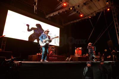 Beto Zapata, Pepe Elizondo, Julio Támez, Toño Pequeño y Luis Mario Garza presentaron su All Access Tour que ya habían levado con éxito a otras partes de la República Mexicana así como Estados Unidos y Centroamérica.
