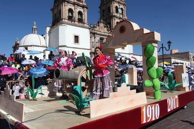 Durango conmemora el aniversario de la Revolución