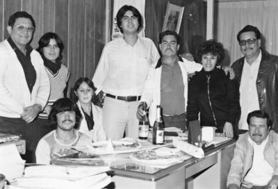 19112017 Grupo de Dpto. de Transporte: Lupita, Rodolfo Álvarez, Yolanda Lozano, Patricia Villa, Antonio Torres (f), Guadalupe Niño (f), José García (f), Fco. Pérez y Carmelita Valdez.