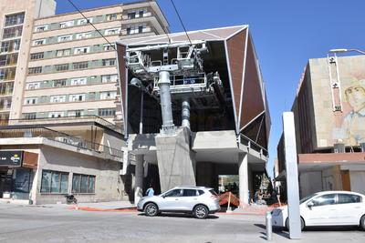 Así luce la estación Treviño.