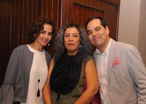 23112017 Eliana Ortega, Laura Cepeda y Carlos Castañón.