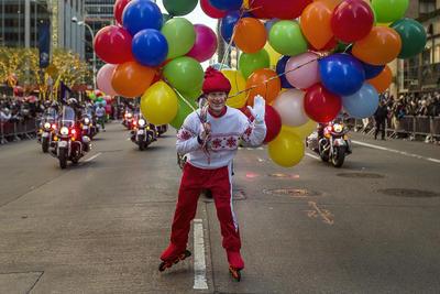 Las calles de Nueva York se llenaron de color.