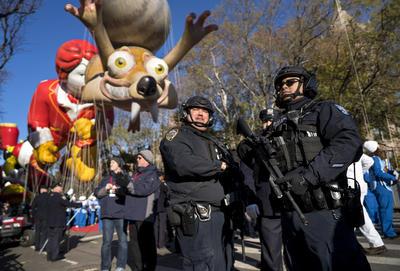 Nueva York participó un año más en el tradicional desfile del Día de Acción de Gracias.