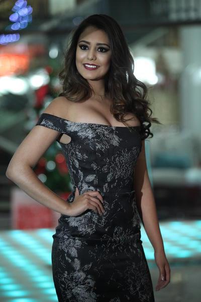 Alexandra Maldonado, quien está por terminar su reinado en este certamen.