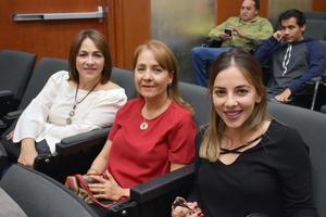 24112017 Ana Laura, Lupita y Ana Laura.